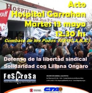Flyer Acto Garra 13 5 04