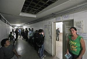 hospitales crisis